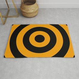 Target (Black & Orange Pattern) Rug