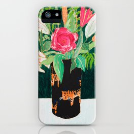 Tiger Vase iPhone Case