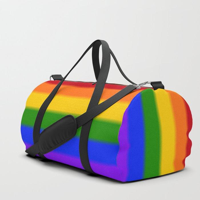 Rainbow Gay Pride Flag Duffle Bag