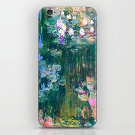 water lilies : Monet iPhone Skin