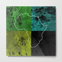 Tanzania III - Art In Support Of Kids 4 School Metal Print