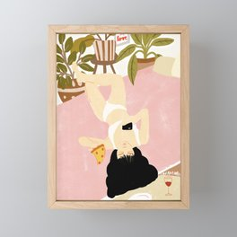 This is life Framed Mini Art Print