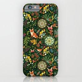 Treasures of the emerald woods iPhone Case