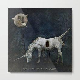 Moon Fairytale I Metal Print