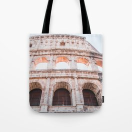 Roman Colosseum   Europe Italy Rome Architecture Ancient Ruins City Photography Tote Bag