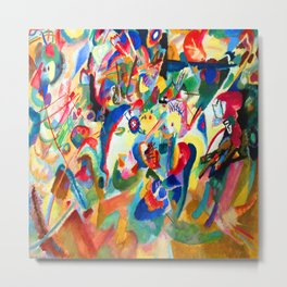 Wassily Kandinsky Composition VII Metal Print