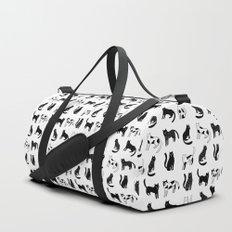 Cats print Duffle Bag