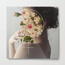 Feminine Metal Print