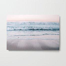 Pink Sea II Metal Print