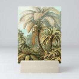 Vintage Tropical Palm Mini Art Print