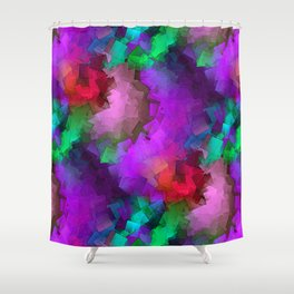 time for abstraction -5- Shower Curtain