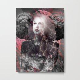 Fireworks Of The Mind Metal Print