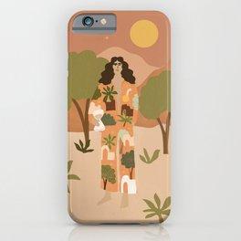Safari Trees iPhone Case