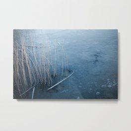 Blue ice Metal Print