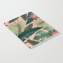 Tropical Monstera Swiss Cheese Plant Notebook