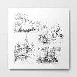 Moscow ,Kremlin Metal Print