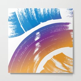 paint strokes Metal Print