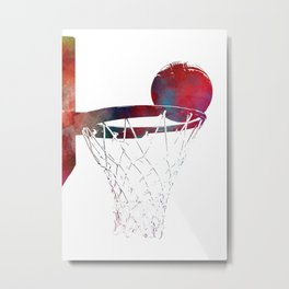 basketball player #basketball #sport Metal Print