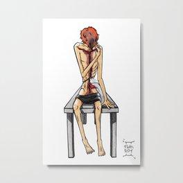 Autopsy Metal Print