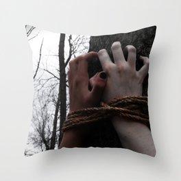 Restraints Throw Pillow