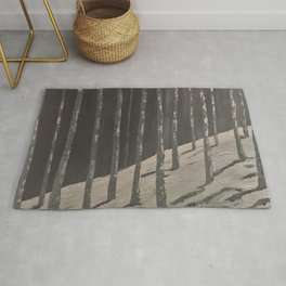 Birch Forest - Spring is coming Rug