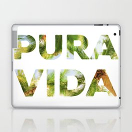 Pura Vida Costa Rica Palm Trees Laptop & iPad Skin