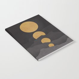 Rise of the golden moon Notebook