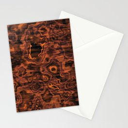 Knotted Wood Stationery Cards