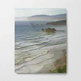 Northern California's Mendocino Coastline Metal Print