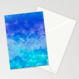 Sweet Blue Dreams Stationery Cards