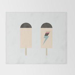 november ice cream Throw Blanket