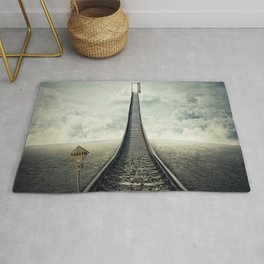 railroad to door Rug
