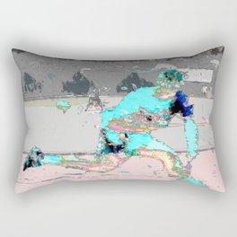 male tennis player Rectangular Pillow