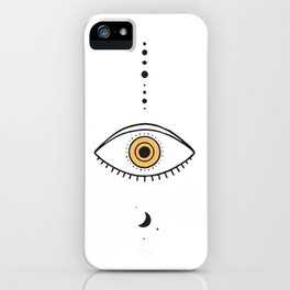 Universe Eye II iPhone Case