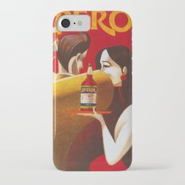 Aperol Alcohol Aperitif Spritz Vintage Advertising Poster iPhone Case