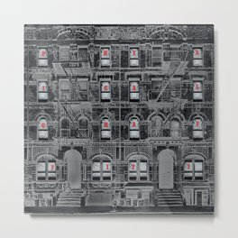Physical Graffiti Led (Deluxe Edition) by Zeppelin Metal Print