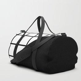 EIGHTIES PATTERN (BLACK-WHITE) Duffle Bag