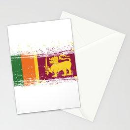 Sri Lankan Flag Sri Lanka Culture National Country Patriotism Nationalism Stationery Cards
