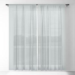 Sky Gray // Pantone 14-4504 TPX Sheer Curtain