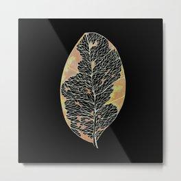 Died leaf 1 Metal Print