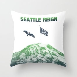 SEATTLE REIGN Throw Pillow