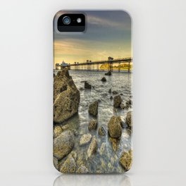 A Rocky Sunset iPhone Case
