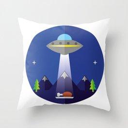 UFO Throw Pillow