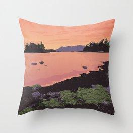 Pacific Rim National Park Reserve Throw Pillow