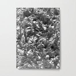 Silver Crush Metal Print