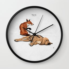 Not So Wall Clock