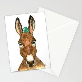 Ane au chapeau Stationery Cards