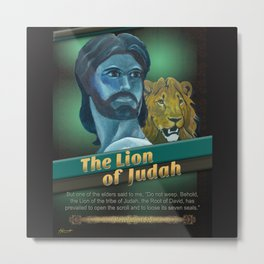 The Lion Of Judah 1 Metal Print
