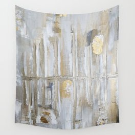 Metallic Abstract Wall Tapestry
