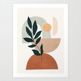 Soft Shapes IV Art Print